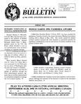 Bulletin - Spring, 1992