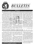 Bulletin - Winter, 1994