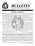 Bulletin - Winter, 1996