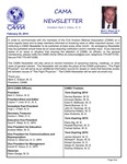 CAMA Newsletter - February, 2014
