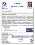CAMA Newsletter - August, 2014 by Civil Aviation Medical Association