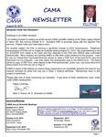 CAMA Newsletter - August, 2014