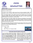 CAMA Newsletter - October, 2014 by Civil Aviation Medical Association