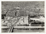 Aerial view of the Place de la Concorde and surrounding area