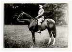 John J. Pershing on horseback