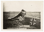 German plane wreckage