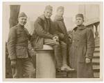 Soldiers in heavy coats