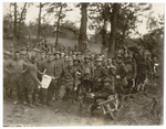 Signal Corps posing for group photo