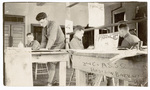 Signal Corps Art Staff at work