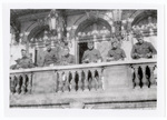 Soldiers on balcony
