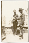 Two soldiers with camera