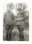 Two soldiers standing together