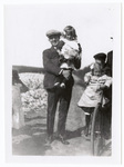 Fred Marshall holding girl