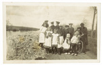 Group of children at Bolenlands