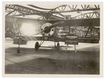 Front view of Hanriot French Biplane