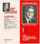 Horn Campaign for County Commissioner Brochure