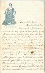 Letter from William McKinney to His Cousin Martha McKinney, September 16, 1861