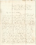 Letter from William McKinney to His Cousin Martha McKinney, January 16, 1862