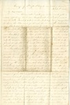 Letter from William McKinney to His Cousin Martha McKinney, March 2, 1862