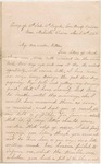 Letter from William McKinney to His Cousin Martha McKinney, March 16, 1862