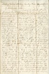 Letter from William McKinney to His Cousin Martha McKinney, April 19, 1862