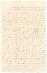 Letter from William McKinney to His Cousin Martha McKinney, July 3, 1862