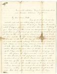 Letter from William McKinney to His Cousin Martha McKinney, July 5, 1862