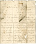 Letter from William McKinney to His Cousin Martha McKinney, July 31, 1862