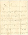 Letter from William McKinney to His Cousin Martha McKinney, August 7, 1862 by William M. McKinney
