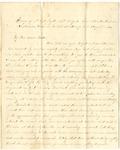Letter from William McKinney to His Cousin Martha McKinney, August 7, 1862