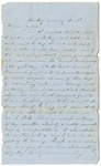 Letter from William McKinney to His Cousin Martha McKinney, December 2, 1862 by William M. McKinney