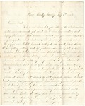 Letter from William McKinney to His Cousin Martha McKinney, July 5, 1863