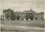Colonel Harris Building, National Military Home of Dayton by Keyes Souvenir Card Company