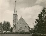 Stone Church, National Military Home of Dayton by Keyes Souvenir Card Company