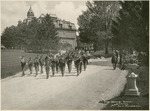 The Home Band Marching to a Funeral at the National Military Home of Dayton by Keyes Souvenir Card Company