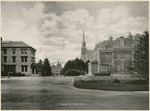 Ohio Avenue of the National Military Home of Dayton by Keyes Souvenir Card Company