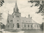 The Catholic Chapel at the National Military Home of Dayton by Keyes Souvenir Card Company