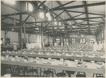 Interior of the New Mess Hall at the National Military Home of Dayton by Keyes Souvenir Card Company