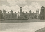 The Hospital at the National Military Home of Dayton by Keyes Souvenir Card Company