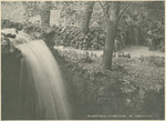 Electric Cascade in the Grotto at the National Military Home of Dayton by Keyes Souvenir Card Company