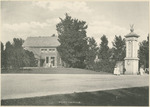 Post Office of the National Military Home of Dayton by Keyes Souvenir Card Company