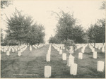 National Cemetery at the National Military Home of Dayton by Keyes Souvenir Card Company