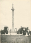 Soldiers' Monument in the Cemetery of the National Military Home of Dayton by Keyes Souvenir Card Company