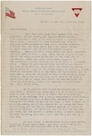 World War I Letter
