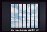 The Night Thoreau Spent in Jail by Abe J. Bassett