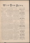 West Side News, October 12, 1889 by Orville Wright and Edwin Sines