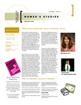 Women's Studies Newsletter Winter 2008 by Wright State University Women's Studies Program