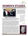 Women's Studies Newsletter Fall 2013