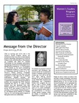 Women's Studies Newsletter Spring 2014