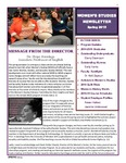 Women's Studies Newsletter Spring 2015